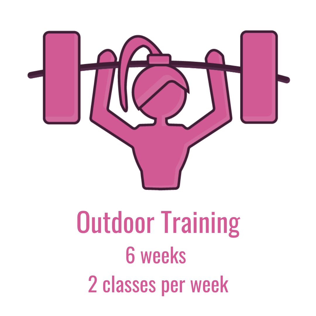 Outdoor Training 6 Weeks 2 Classes Per Week